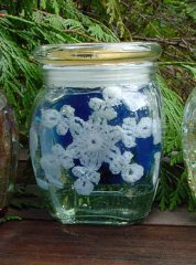 Seattle Snowflake Holiday Candle