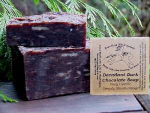 Dark Chocolate Bar Soap