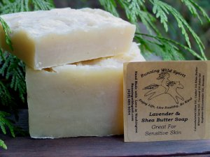 Sensitive Skin Bar (Lavender & Shea)