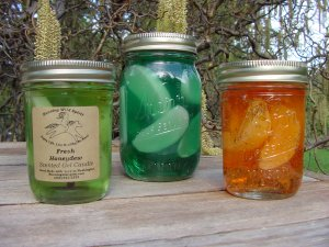 Orange Spice Preserves Candles