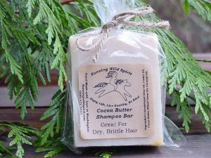 Cocoa Butter Shampoo Bar