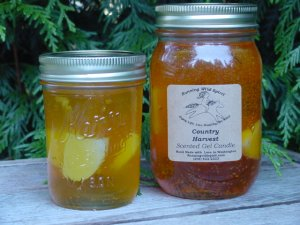 Country Harvest Preserves Candles