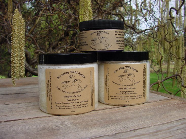Seattle Sunshine Salt Scrub - Click Image to Close